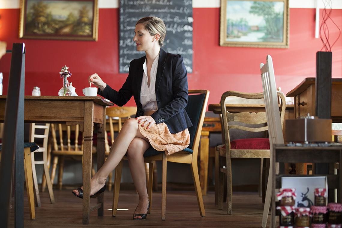 Foto Outfit Business romantisch klassisch Farbberatung Stilberatung Berlin